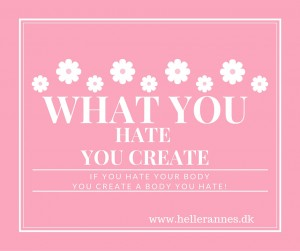 What you Hate You Create